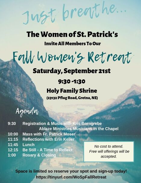 Women of St Pats - St  Patrick Catholic Church - Elkhorn, NE